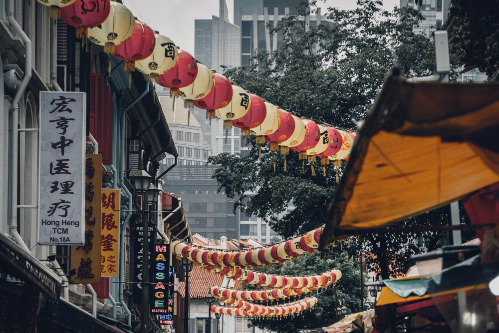 Buget souvenirs kopen in Chinatown