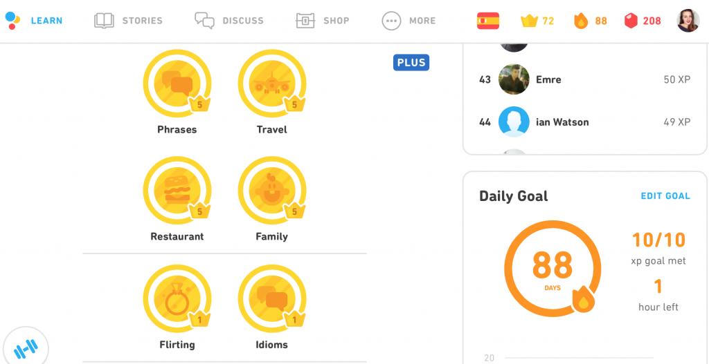 Duolingo is ook een reisapps