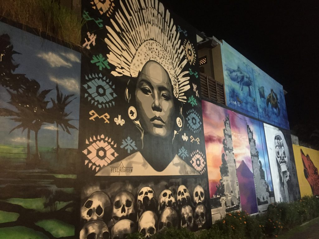 Street art Canggu