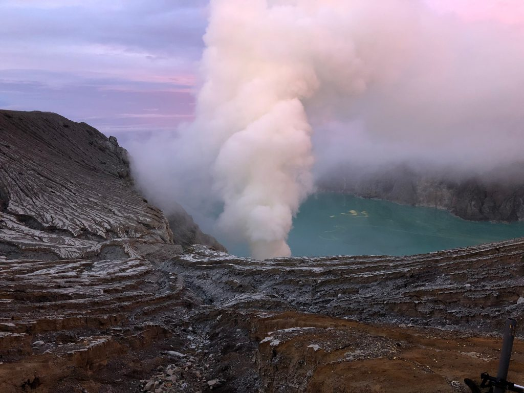 Kawah Ijen krater